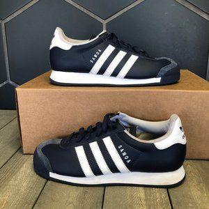 Used W/O Box! Adidas Samoa Navy White Sneakers